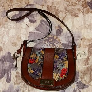 NWT fossil crossbody purse